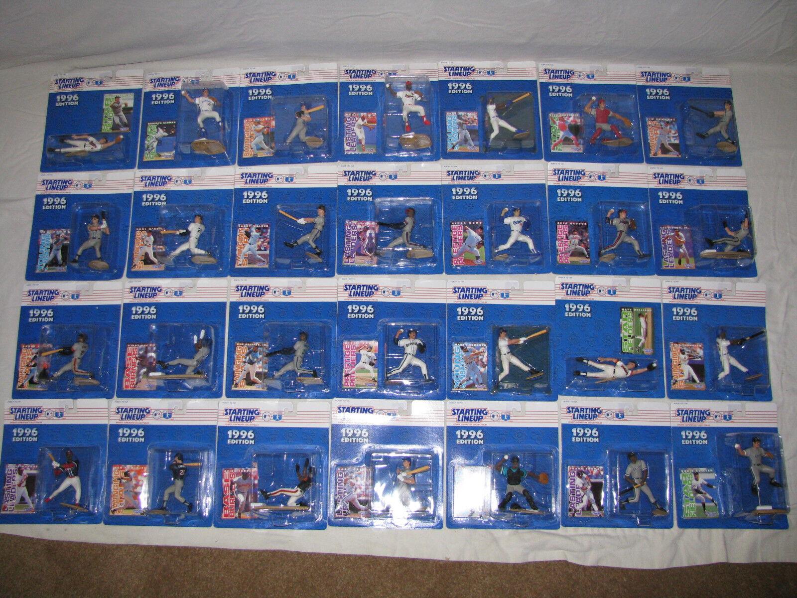 Estrellating Lineup béisbol 1996 28 higos-Nomo, Puckett, bonos, Ripken (2), Piazza