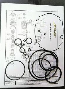 Hitachi Nv90ag Coil Nv90ag S Framing Nailer O Ring Kit 1