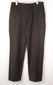 HUGO BOSS Men Wool Formal Trousers Size 52 (W34 L34) BEZ796