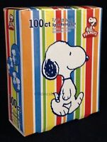Peanuts snoopy Bandage Spots - 1 Box/100 Circle Bandage Spots