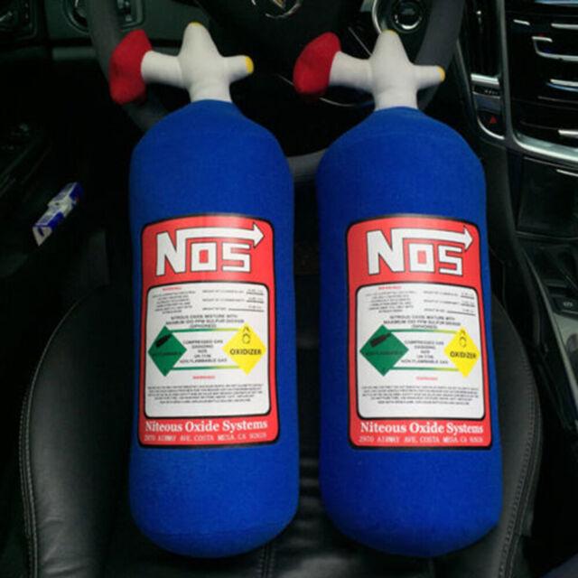 Nitrous Oxide For Sale >> Creative Nos Nitrous Oxide Bottle Tank Plush Throw Pillow Cushion For Car Travel
