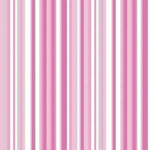 Papier Peint Debona Luxe Trend Code Barre Motif Rayure Rose