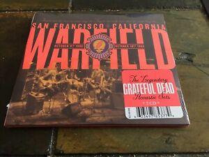 Grateful-Dead-Warfield-San-Fran-10-9-80-amp-10-10-80-Rhino-2019-New-Sealed-2CD