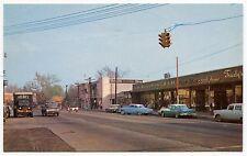 "Old Postcard: Street Scene ""Main Business Section"" [Fairfield, Conn]"