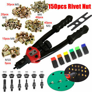 Premium Easy Automatic Rivet Tool Set Kit