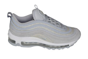 Details about NIKE AIR MAX 97 WOLF GREYWOLF GREY SIZE WOMEN'S 12MEN 10.5 [AT0071 001]