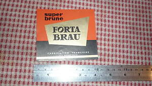 1950s-FRENCH-BEER-LABEL-BRASSERIE-LECQ-LA-LONGUEVILLE-NORD-FRANCE-FORTA-BRAU