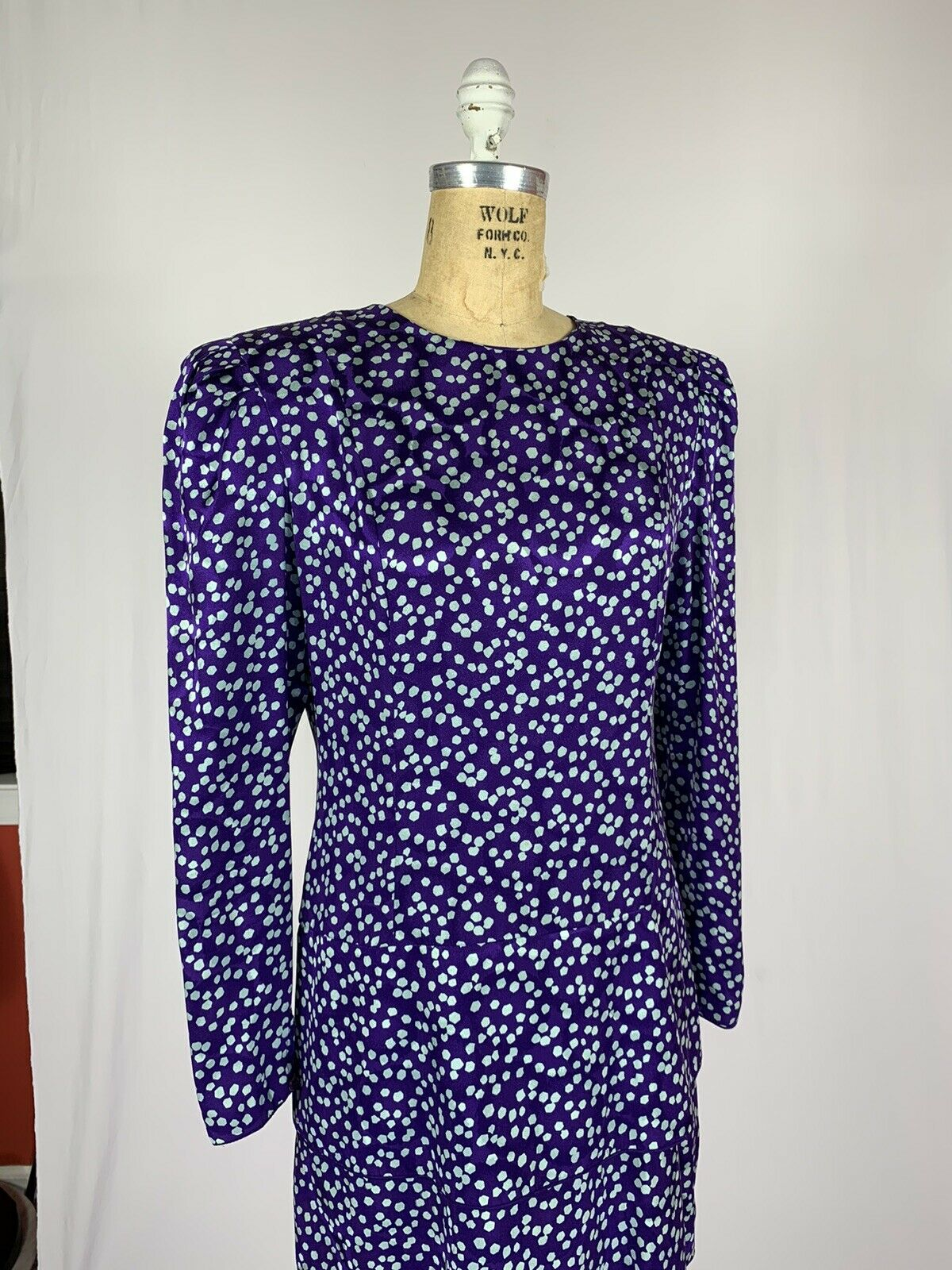 Vintage Maggy London Jeannene Booher Jacquard Sil… - image 7