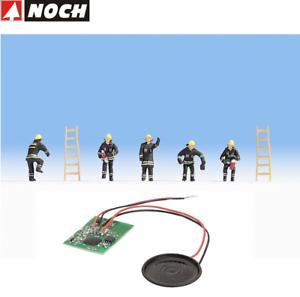 NOCH-H0-12842-Sound-Scene-034-Set-Fire-Department-Unit-034-New-Boxed