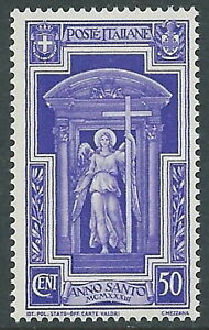 1933-REGNO-ANNO-SANTO-50-CENT-MNH-I54-8