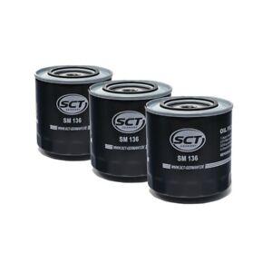 3x-SCT-Germany-Olfilter-Audi-100-44-44Q-C3-100-Avant-4A-C4-A6-Avant-4A-C4