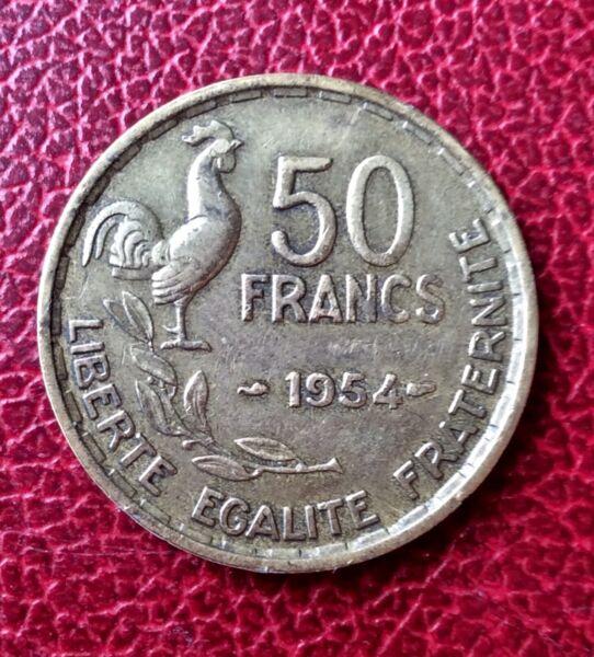 Acheter Pas Cher France - Rare Monnaie De 50 Francs 1954 Fabrication Habile