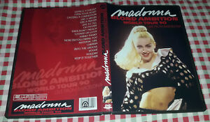 Madonna - Blond Ambition World Tour (Live In Barcelona) DVD SPECIAL FAN EDITION