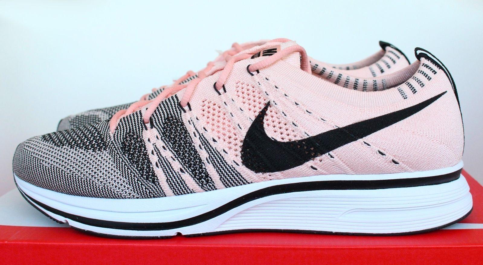 Nike og flyknit trainer og Nike sonnenuntergang farbton pink salmon korallen schwarz ah8396-600 männer 8 - 13 95cd89