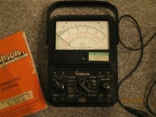 Vintage Simpson 260 Series 5 Volt Milliammeter And Manual Very Nice Condition