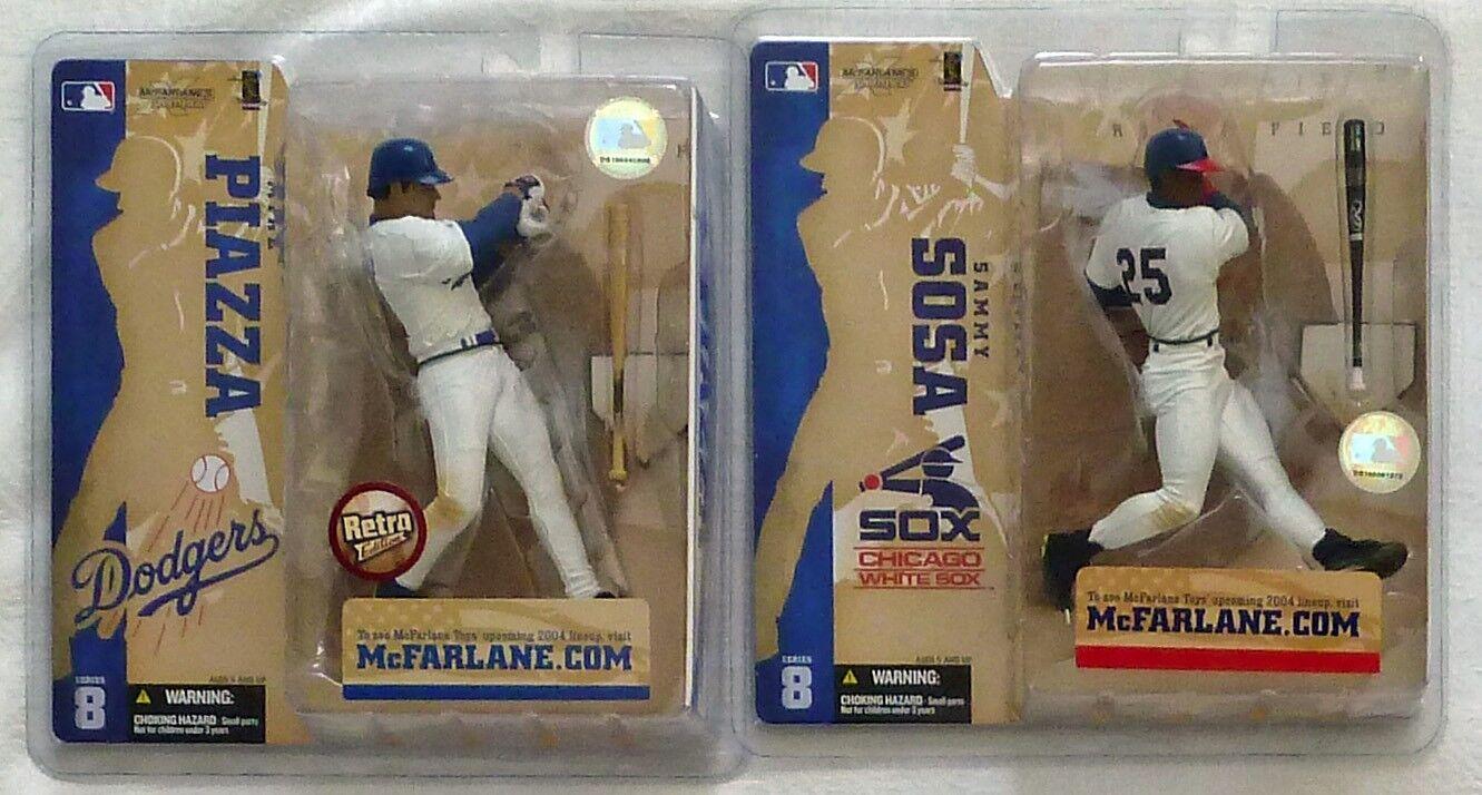 McFarlane MLB 8 COMPLETE SURPRISE VARIANT Piazza, Sosa