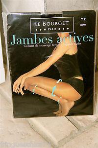 collant-de-massage-jambes-actives-noir-LE-BOURGET-neuf-emballe-HAUT-DE-GAMME-T-2
