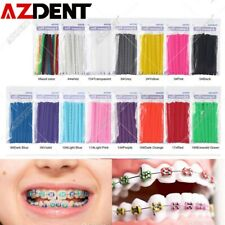 1000pcsbag 23colors Dental Elastic Orthodontic Ligatures Tie Brace Rubber Bands