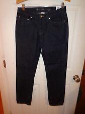New With Tags Men's K-Mart Skinny Fit Dark Blue Jeans Size 30x30 31x30 Z1
