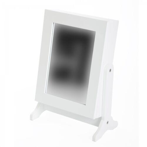 ARMADIO A Specchio Armadietto portagioie tavolo specchio specchio cassetta per gioielli specchio verticale