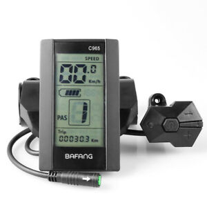 C965 LCD Display Für Bafang BBS01//02 BBSHD Mid Drive Motor Elektrische Fahrrad