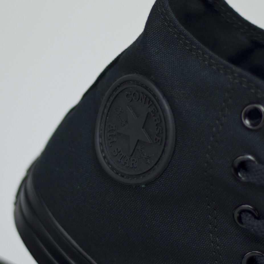 Converse All Star hi baskets baskets baskets new in box noir taille uk tailles 3,4,6,7,8,9,10,11 7e5a6b