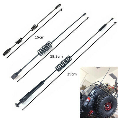 26cm Metal Parts Antenna Decoration For TRX4 1//10 RC Defender Crawler v!