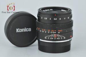 Excellent-Konica-M-HEXANON-50mm-f-2-Leica-M-Mount-Lens