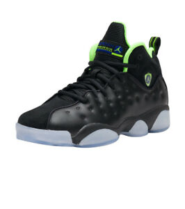 wholesale dealer 39648 33d9f Image is loading AIR-JORDAN-JUMPMAN-TEAM-2-II-GREEN-GS-