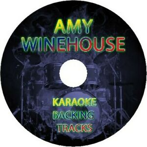 AMY-WINEHOUSE-KARAKE-BACKING-TRACKS-CD-BEST-OF-GREATEST-HITS-SING-ALONG-MUSIC