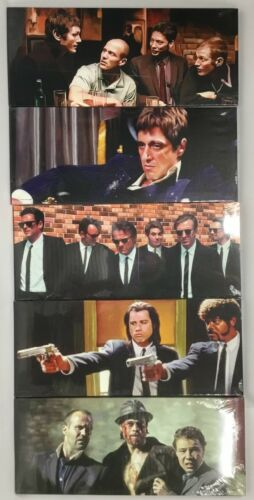 "5 Different Gangster Film Canvas designs  24/""x 10/"" On A Wooden Stretcher Frame"