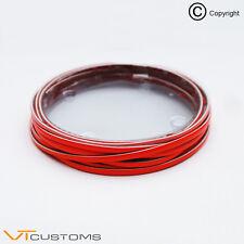 Red Styling Strip Trim Car Van 4mm x 5 Meters - Free UK Postage