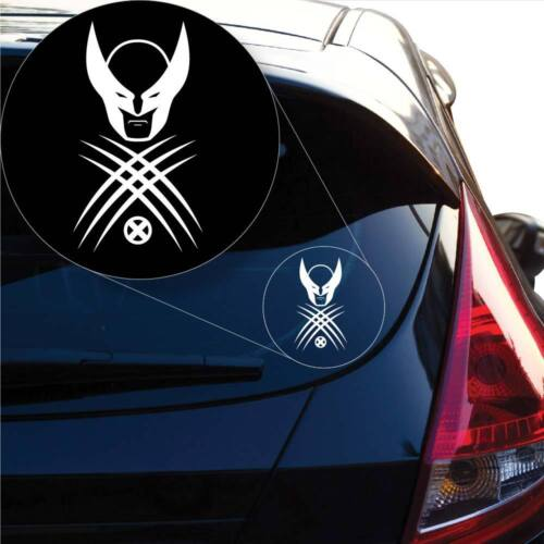 # 1014 Laptop and More Wolverine X Men Decal Sticker for Car Window