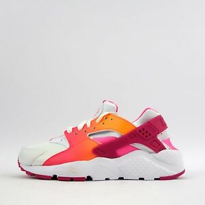 Image is loading Nike-Air-Huarache-Run-Junior-Girls-GS-Trainers-