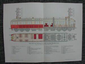 Transport Literatur DemüTigen Triebwagen Schnellbahn Marienfelde-zossen Siemens & Halske Farbdruck Von 1903 üBereinstimmung In Farbe