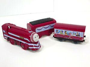 Motorized-Trackmaster-Caitlin-Passenger-Train-Thomas-amp-Friends-Tank-Engine