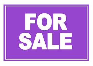 2 X For Sale-violet-signe Étiquette Autocollante Vinyle Imperméable Stickers-afficher Le Titre D'origine Ezz6i7xq-07214829-697255613