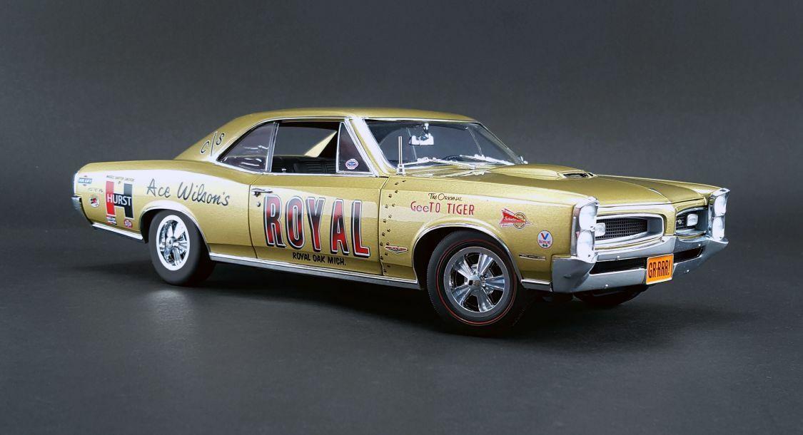ACME 1966 Pontiac GTO-ROYAL Drag Car 1 18