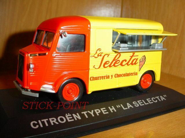 CITROEN TYPE H 1 43  LA SELECTA  SPAIN CHOCOLATE & CHURROS SELLING CAR AUTO