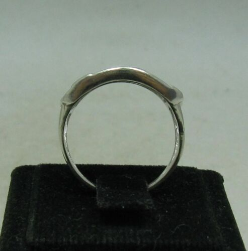 Stylish Sterling Silver Ring Flower Solid 925 Neuf Taille 4-10 EMPRESS