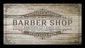 Barber Shop Barre Tapis Counter Tapis Barbiers Salon Coiffure Rustique 1039 fafJRuMV-09154059-347571290
