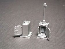 HO Scale US&S Type Single Door Relay Cabinet Kit by Century Foundry (2187)