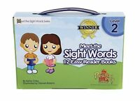 Meet The Sight Words - Level 2 - Easy Reader Books (boxed Set Of 12 Books) By Ka