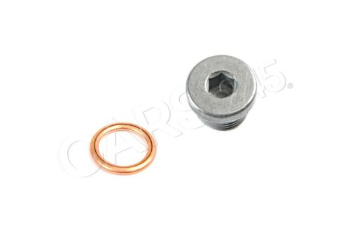 Genuine BMW 1 3 5 6 7 8 Series Z4 X1 X3 X5 Drain Plug with Copper Gasket M18X1.5