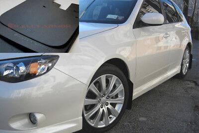Rally Armor UR BLACK Mud Flaps Flap w// WHITE Logo for 08-10 WRX /& 08-11 2.5i