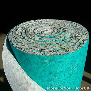 10mm Thick Carpet Underlay Pu Foam 1 Full Roll Cheap Ebay