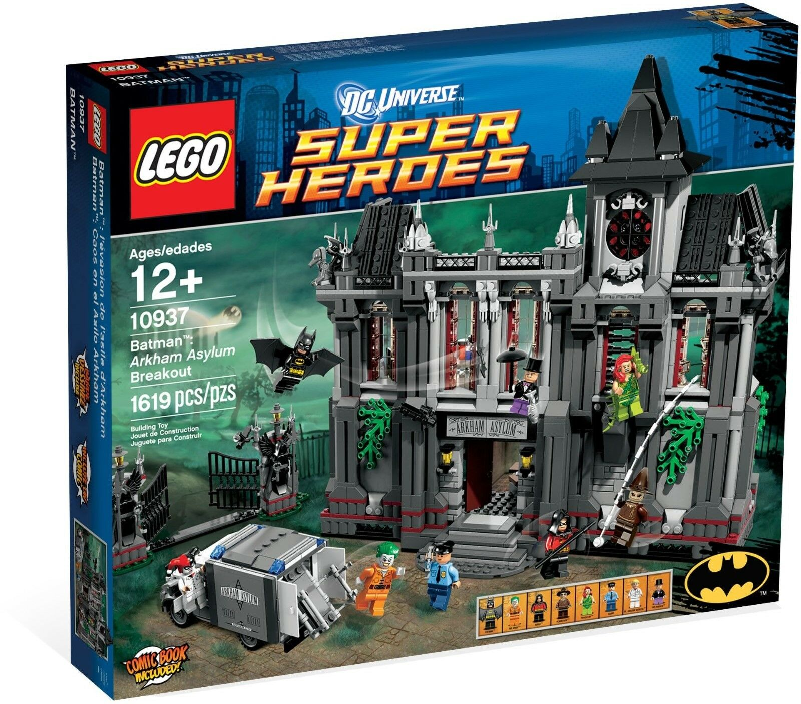 LEGO Super Heroes Batman  Arkham Asylum Breakout 10937 - Brand New - Retired