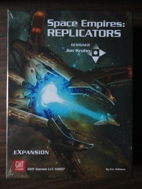 Space Empires: Replicators expansion by GMT Games NEW 2017 mint in shrink