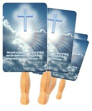 50 Church Fans, Beautiful Church Hand Fans Paddle fans