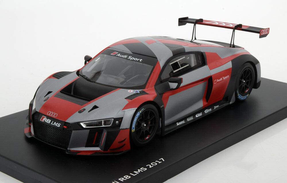Spark Audi R8 LMS Team audi Sport Presentation 2017 Dealer Edition 1 18 Scale
